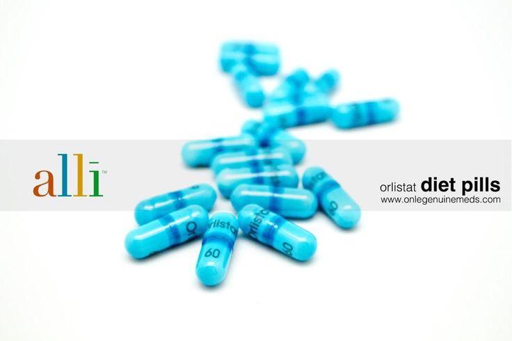 Original alli diet pills by GSK (Glaxo Smith Kline) orlistat pellets, genuine alli weight loss pills