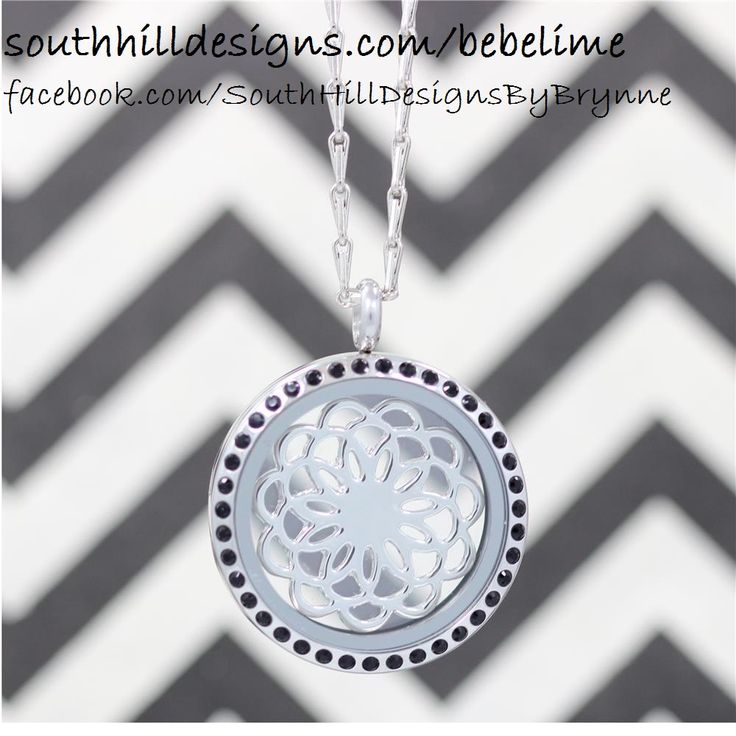 #SouthHillDesigns #Charms #Locket #Jewelry #CrystalLocket #Necklace
