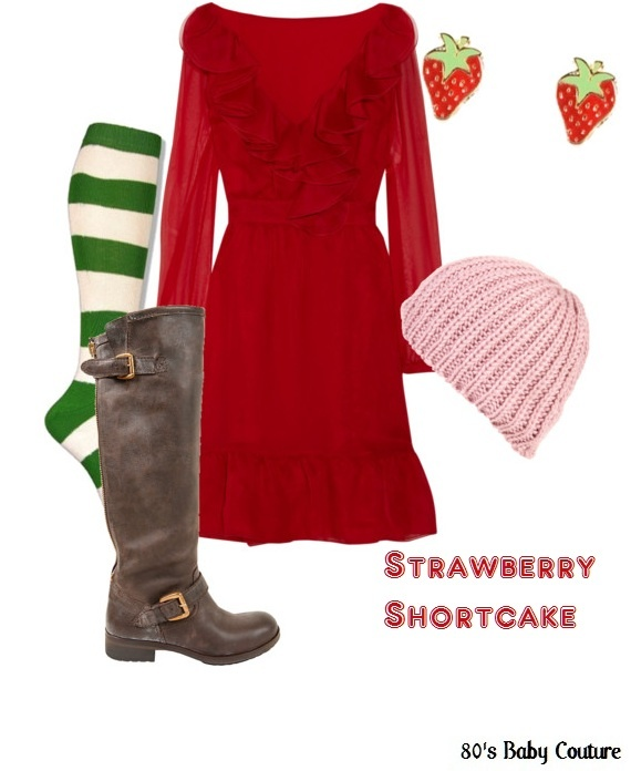 Strawberry Shortcake outfit for mom???