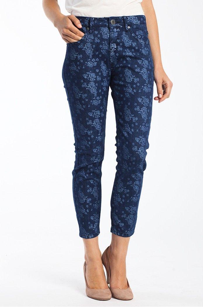 Uwielbiamy jeansy z wzorkami <3