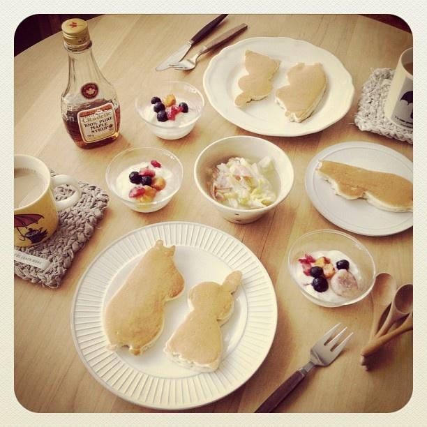 Pancakes / Moomin