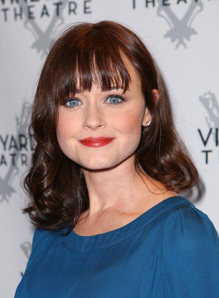 Pin for Later: Kate Hudson Se Teint les Cheveux en Rose Gold, et C'est Plutôt Réussi Alexis Bledel, à la Première de Billy and Ray