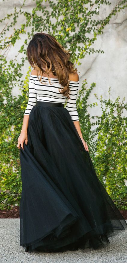 stripes & tulle