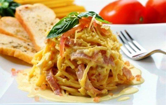Рецепт спагетти с ветчиной, секреты выбора ингредиентов и добавления