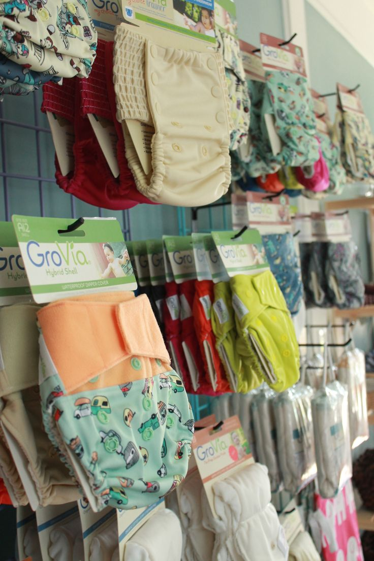 GroVia Cloth Diapers avaiable at Nurture Nest in Niantic