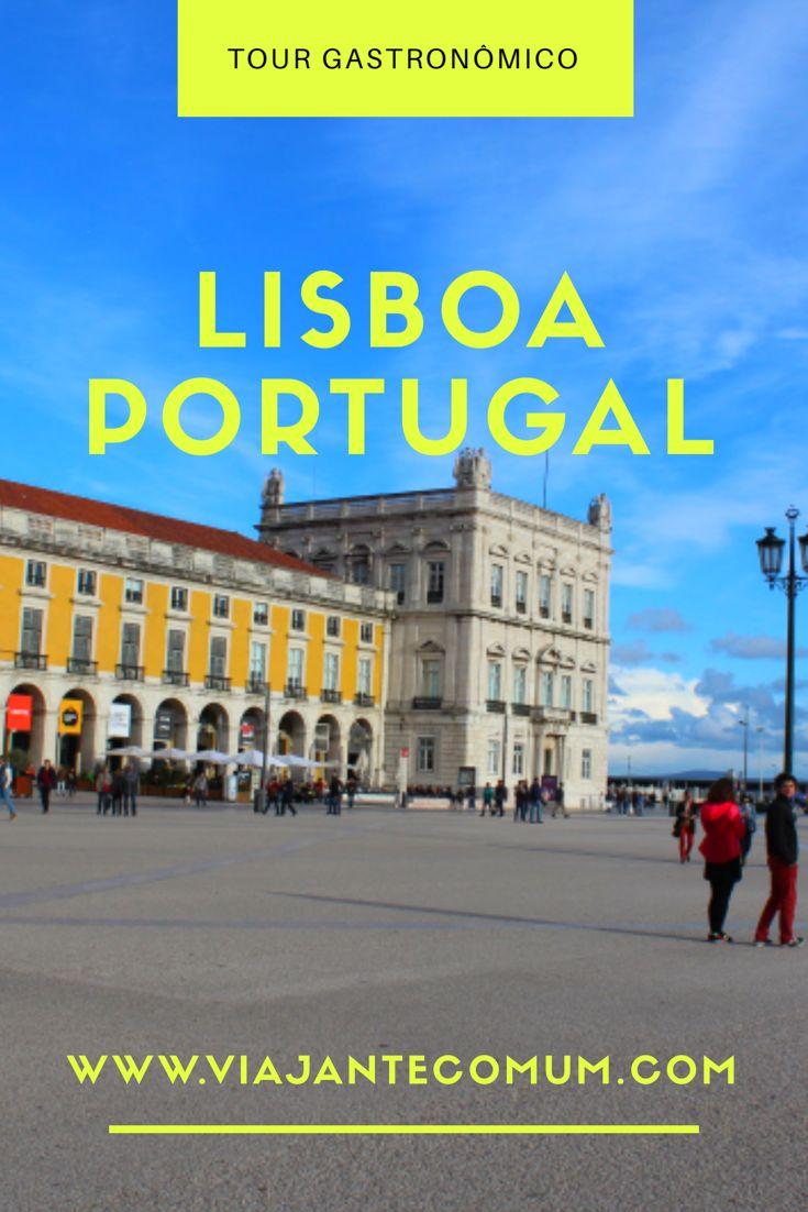 Que tal passear por Lisboa, em Portugal, conhecendo sua culinária e cantinhos especiais? Vem ver! #lisboa #portugal
