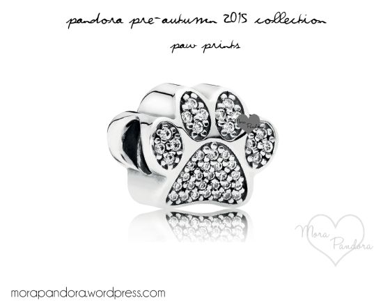 Pandora Paw Prints charm from the Pre-Autumn 2015 collection!