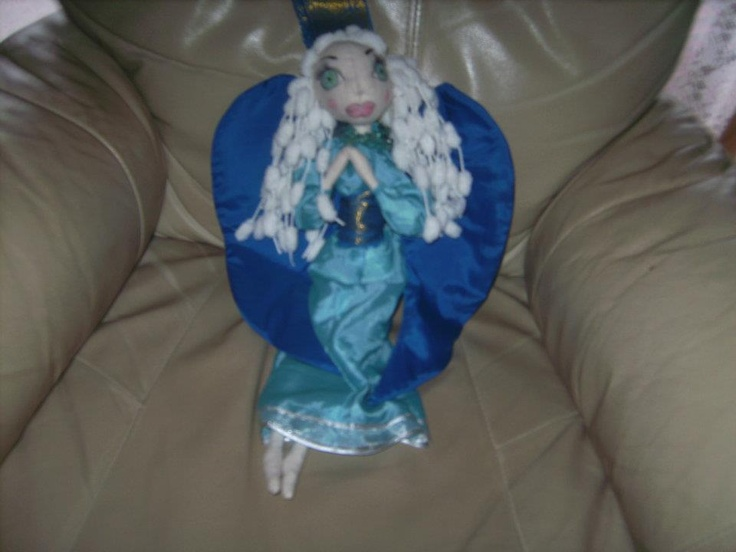 Blue Angel art doll