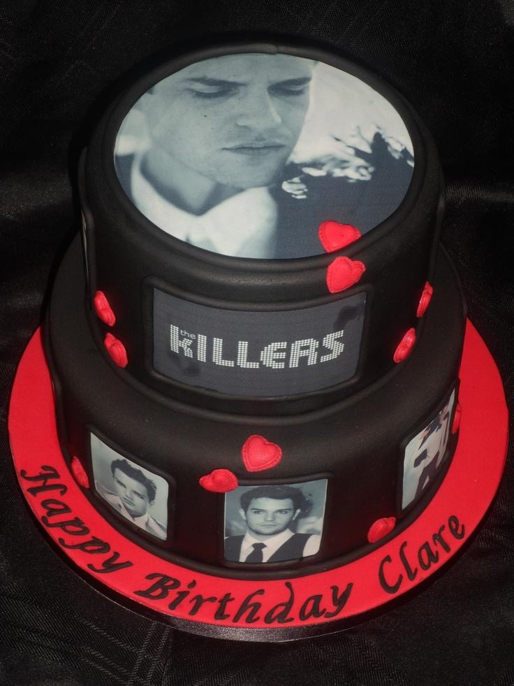 Brandon Flowers From The Killers Cake Dessert
