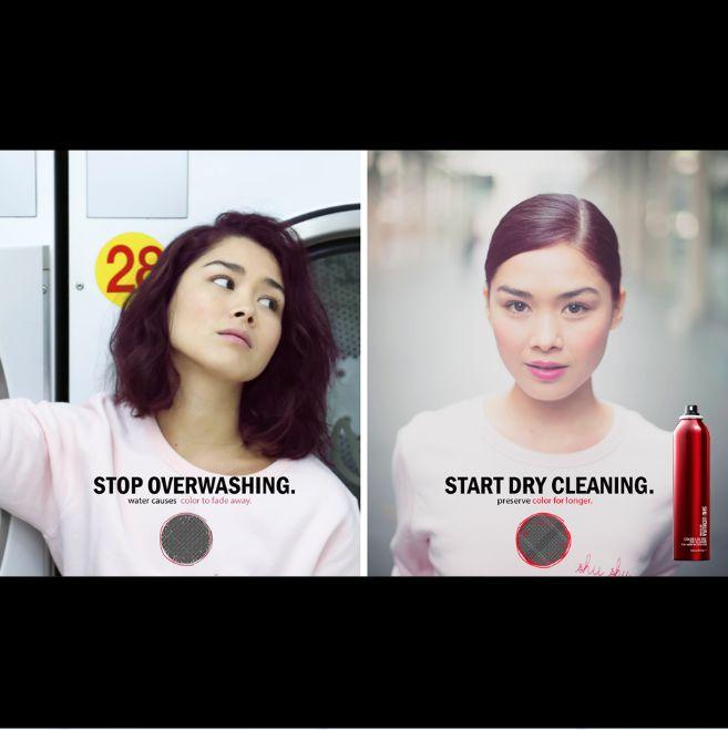 Regelmatig wassen kan je haarkleur vervagen. Stop overwashing, start dry cleaning! Color Lustre Dry Cleaner geeft je haar niet alleen een frisse look & feel, maar heeft ook een voedende werking voor optimaal kleurbehoud.  #shuartofhair #shucare #dryshampoo