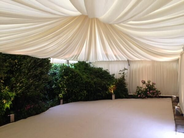 Share your garden with your guests http://www.tophatmarquees.co.uk/marquees.php