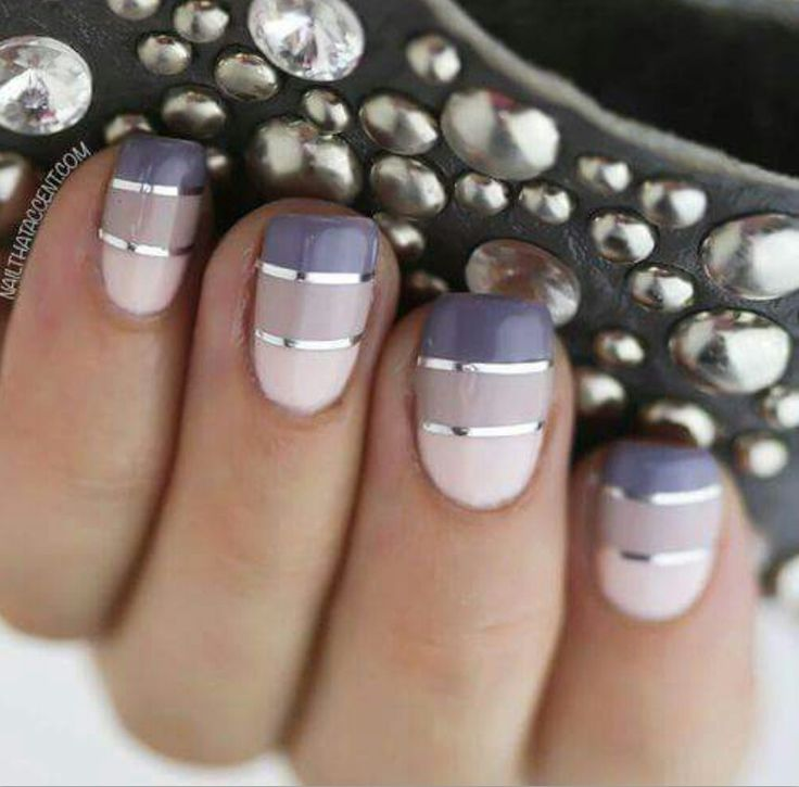 The 25 best striped nails ideas on pinterest nails with stripes super cute simply elegant design and easy too purple nail artpurple gel prinsesfo Gallery