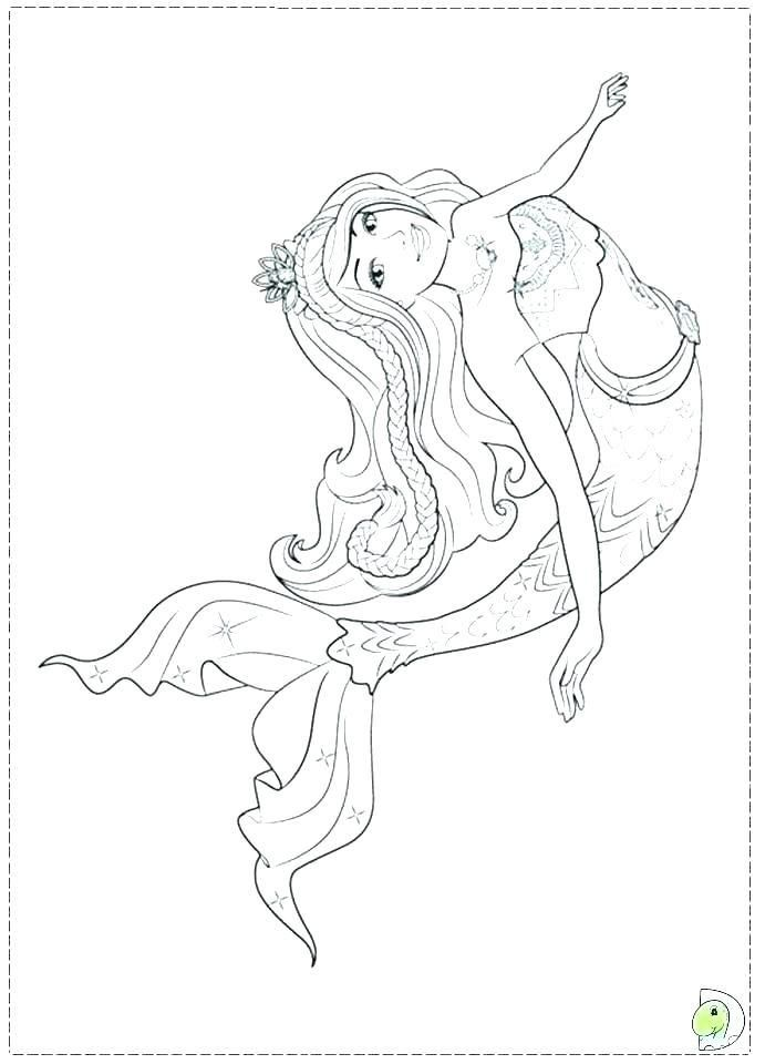 Barbie In A Mermaid Tale 2 Coloring Pages In 2020 Mermaid