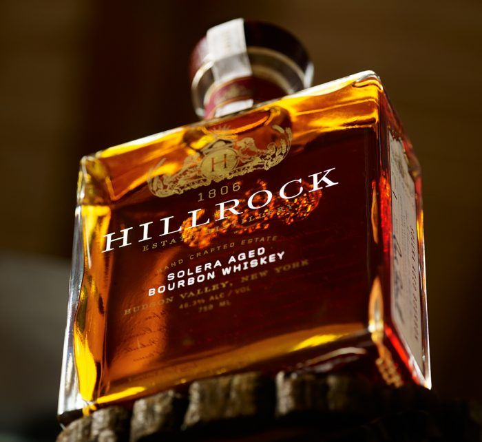 Hillrock Distillery Bourbon branding and package design