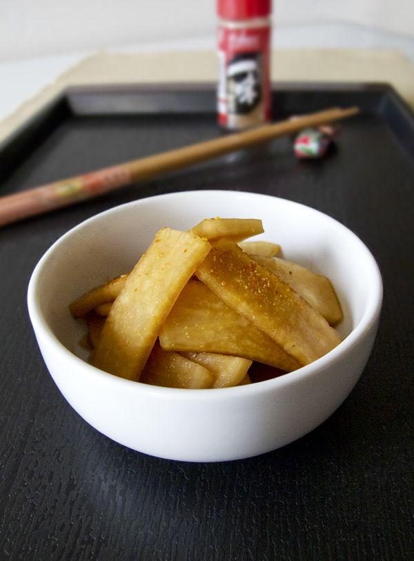 Pickled daikon (Japanese style) | @pickledplum.com