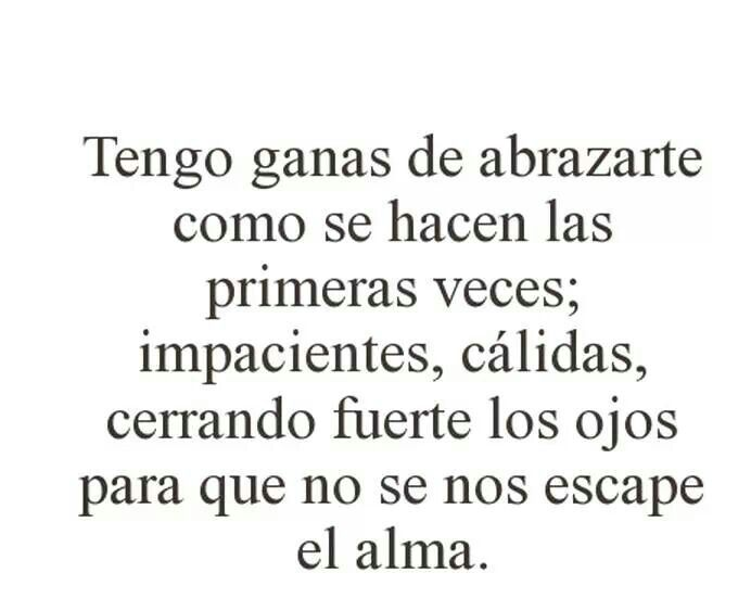 Abrazos ♥