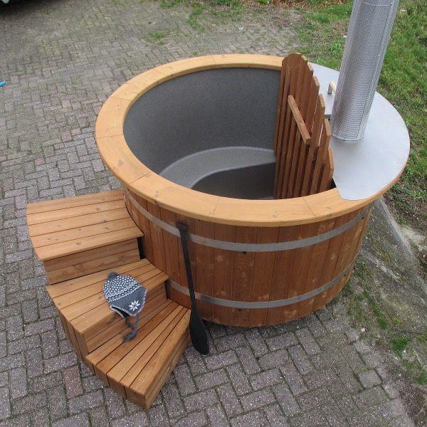 Great Badefass mit Innenofen von Au en zu best cken von sisu sauna at