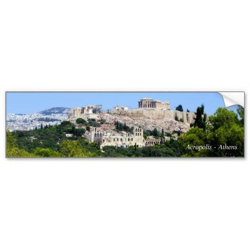 Acropolis – Athens Bumper Sticker