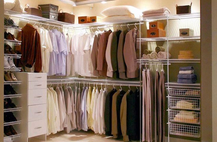 Veja como montar um closet gastando pouco.