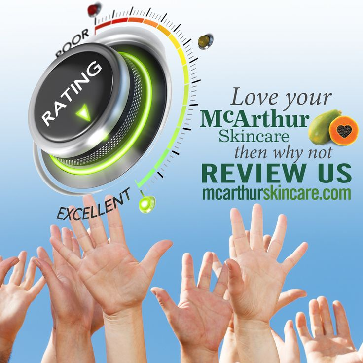 Love your McArthur Skincare? Then why not review us…  We love to hear from our many customers, and have compiled a collection of their testimonials on our website. If you would like to share your own story, or before and after photos, you can add them online and enter the draw to win two free products of your choice from our range simply by providing a product review.  Add your story here: http://mcarthurskincare.com/love-it-review-it/