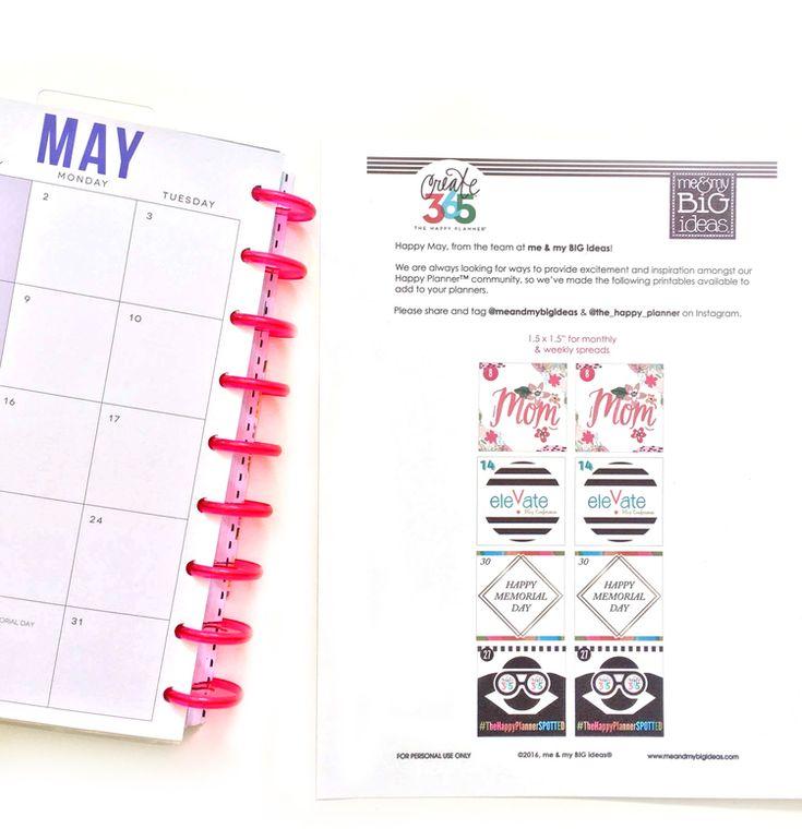 Happy Planner Calendar Refills : Best planner mambi the happy images on