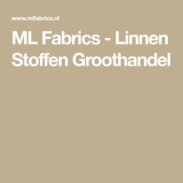 ML Fabrics - Linnen Stoffen Groothandel