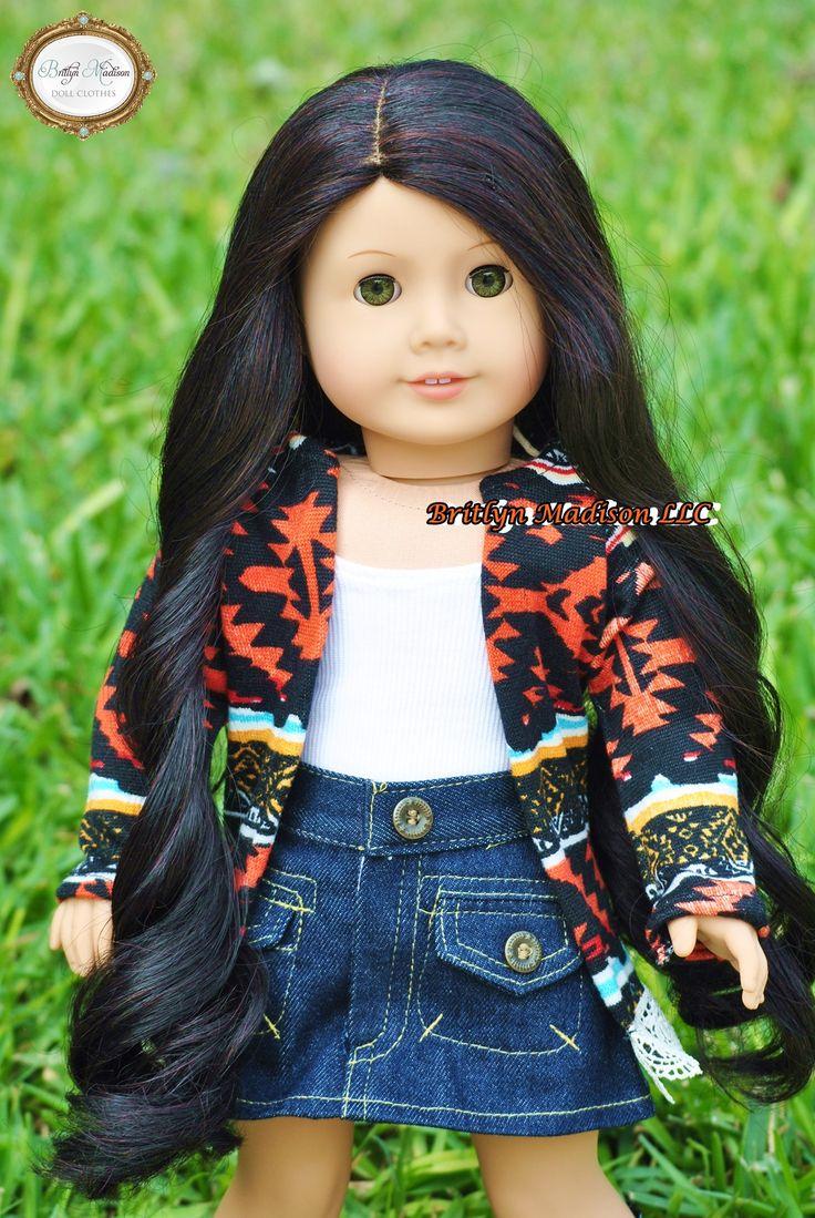 Custom American Girl Doll available @ https://www.britlynmadison.com