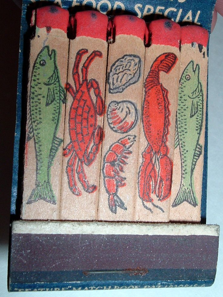 Trainer's Seafood Quakertown PA #feature #matchbook To design & order your business' #matches GoTo: GetMatches.com Today!