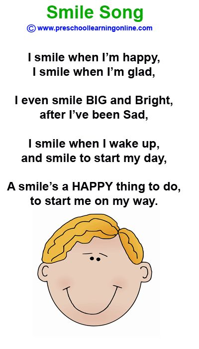 The Smile Song is a preschool song to teach kids about smiling and feelings…