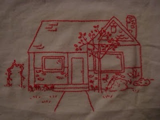 Turn your house into an embroidered art piece!