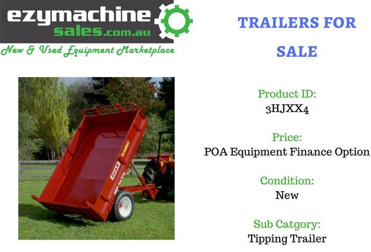 New No. 1 Jumbo 6 Tonne Capacity Farm Tipper for sale