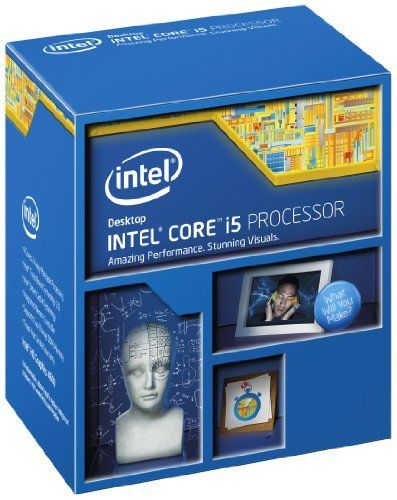 Intel I5-4440 Processor BX80646I54440 (735858269438) 22nm Lithography with 4 cores/ 4 threads, and clock speed at 3.1 GHz, max turbo up to 3.3 GHz, 6MB cache Support up to 32GB memory size(DDR3-1333/1600) Intel HD Graphics 4600 with Intel Quick Sync Video, Intel InTru 3D Technology, Intel Insider, Intel Wireless Display, and Intel Clear Video HD Technology Socket Supported: FCLGA1150