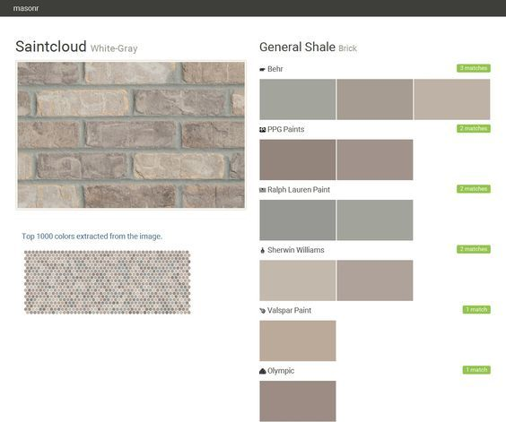 12 Best Rome Ga Top 10 Brick Colors Images On Pinterest Brick Colors Brick And Bricks