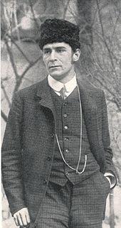 Franz Marc (Munich 1880- Verdun 1916) spirituel, son style est simple influencer par le futurisme et le cubisme.