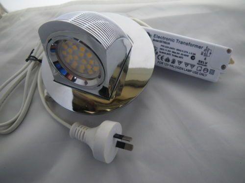 LED Wall Washer Down Light Kit, Chrome, Highlighting Pictures etc.  Ebay $35