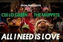 Muppets And Cee Lo Green Release 2012 Christmas Video.   This will fix any crappy day, I guarantee it.