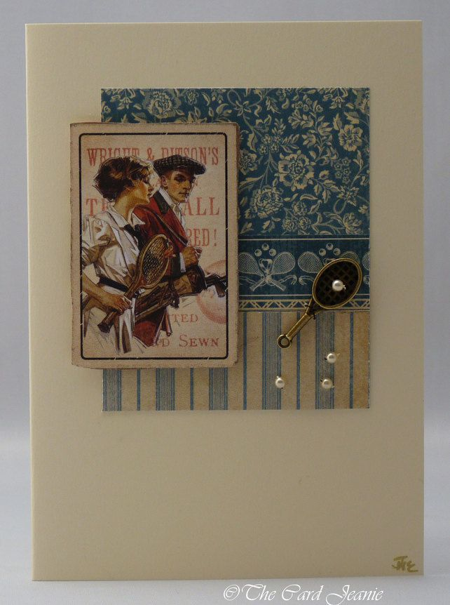 Handmade Card - Mixed Doubles
