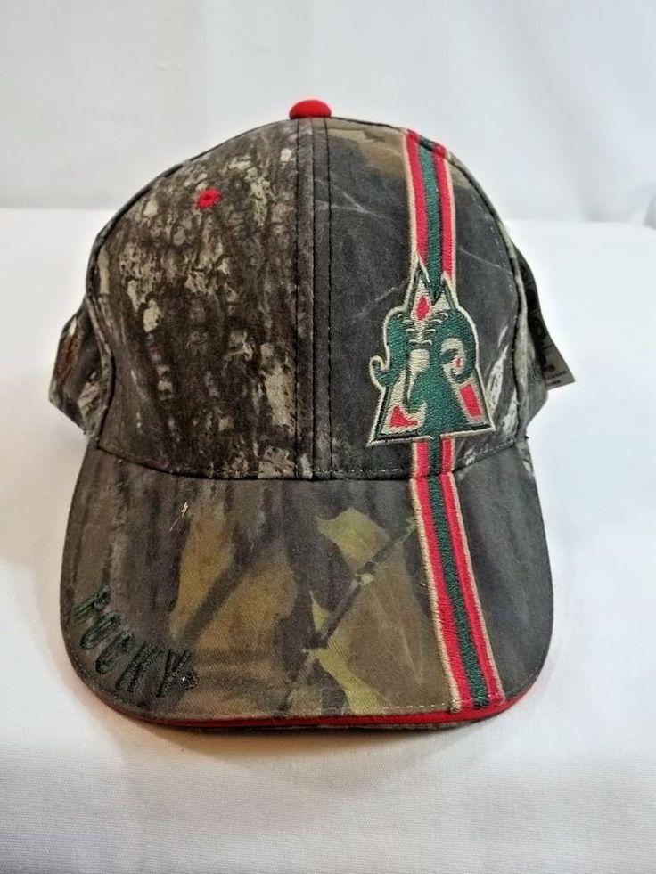 Rocky Boots Cap Hat Mossy Oak NWT Strapback Camo #Rocky #BaseballCap