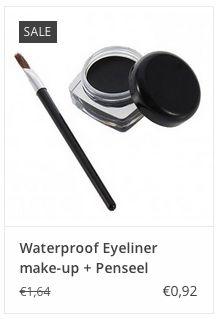 Waterproof Eyeliner make-up + Penseel € 0,92 www.ovstore.nl/nl/waterproof-eyeliner-make-up-penseel.html