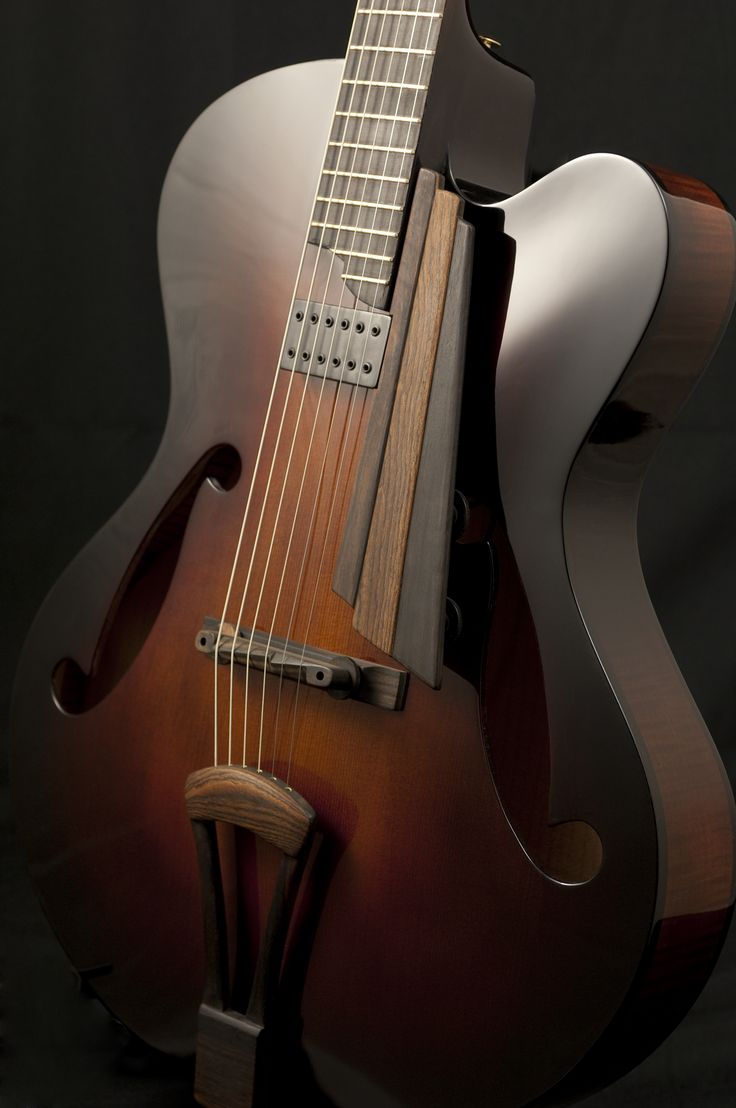 Thorell Guitars archtop :: Shared by The Lewis Hamilton Band :: https://www.facebook.com/lewishamiltonband/app_2405167945 - http://www.lewishamiltonmusic.com http://www.reverbnation.com/lewishamiltonmusic https://soundcloud.com/lewis-hamilton-music
