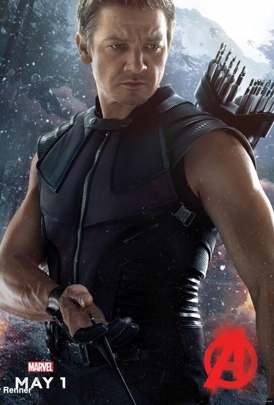 jeremy renner poster avengers age of ultron