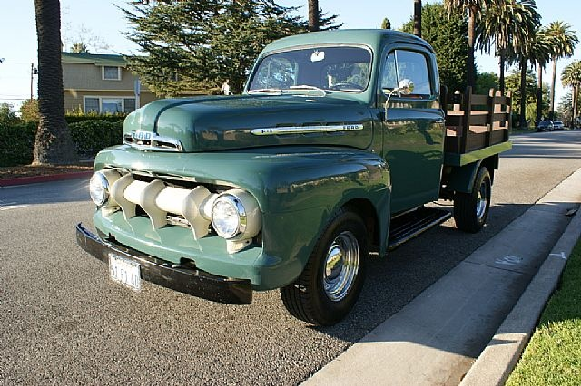1951 Ford F1 Stake Bed 22,500 Classic Pickups