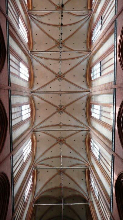 Im hohen Dom zu Wismar.