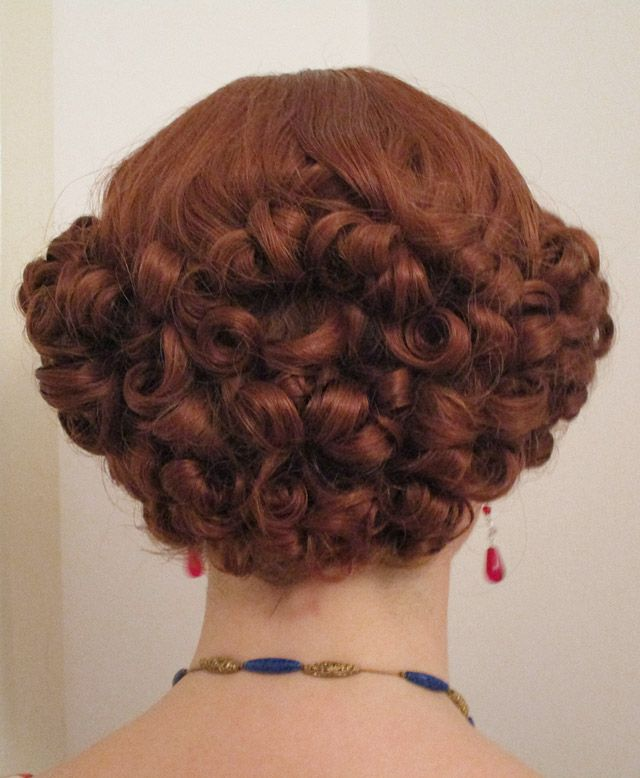 How I Style My 1930s Hair