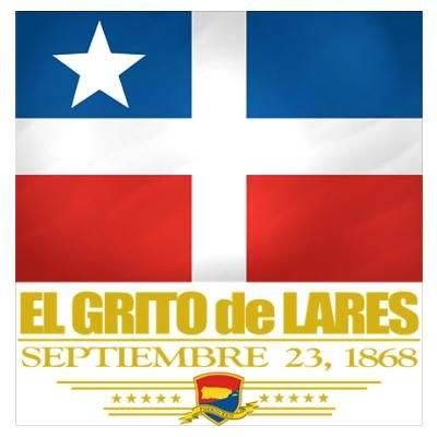"The closest thing Puerto Rico has to an Independence day… ""El Grito de Lares"" Sept 23"