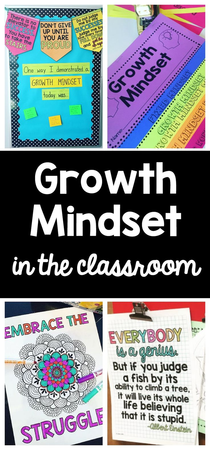 Growth Mindset Bundle | Growth Mindset Banner | Growth Mindset Posters | Growth Mindset Coloring Pages | Growth Mindset foldable flip book | Growth Mindset Task Cards | Growth Mindset Reflection Journal | Growth Mindset in the classroom