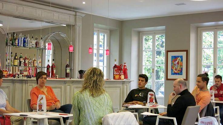 Corso su Perfumes and Drinks presso Campari Academy, maggio 2014