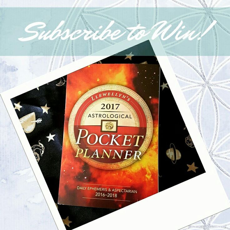 Hi my Everythings! This year has been a massive year for me to get my shit together so I figured where better to start than with knowing where the Planets are and what they are doing to know when to make the best move at the best time this year.  I was soo mad on manifesting the #llewellyns 2017 Astrological Pocket Planner that not one, but TWO of them showed up in my mailbox, so I am GIVING ONE AWAY! Go to www.bitly.osesubwin for more!