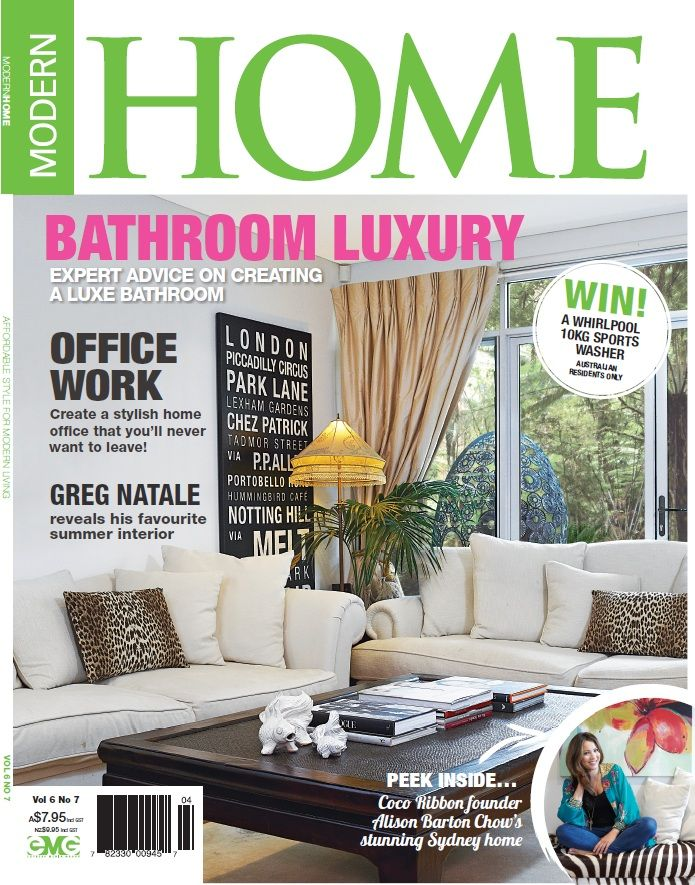 Check out our features in Modern Home from November 2011! #bamboo #modernhome #press