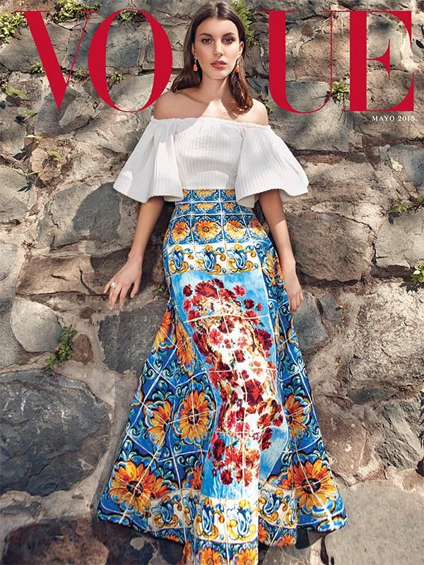 cool Kate King graces the latest cover of Vogue Mexico May 2015  [Cover]